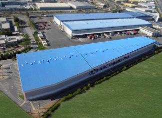 GAC Logistics Park in the Jebel Ali Free Zone