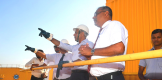 Minister Ratnayaka has said expanding capacity at Colombo Port has to be the top priority for SLPA