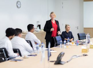 Internship training underway at Bahri's Dubai office