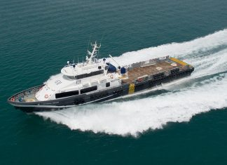Grandweld's 42m crewboat design is proving very popular amongst regional operators