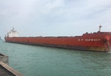 Largest bulker to date berths at Essar's Salaya terminal
