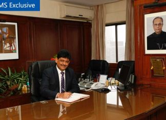 Captain Anoop Sharma, Chairman and Managing Director of SCI, whose tenure comes to an end in September this year