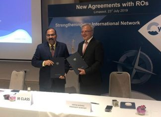 IR has entered into a RO agreement with Cyprus