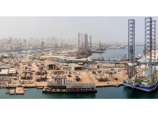 Lamprell is refurbishing more rigs at its Sharjah facilities