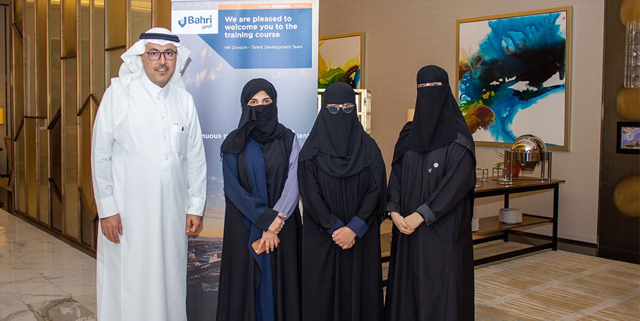 A number of trainees benefitted from the Bahri initiative