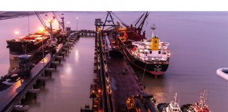 Traffic volumes are increasing rapidly at Adani Ports' facilities in Dhamra
