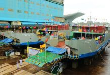 Cochin Shipyard launches ro-pax ships
