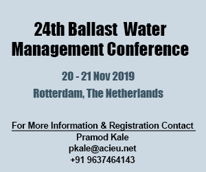 24th Ballast Water Management Conference