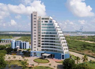 Demand has grown for space at the Hambantota Maritime Centre