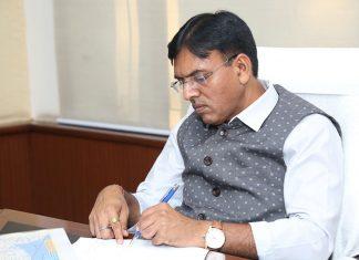 Indian Shipping Minister, Mansukh Mandavia