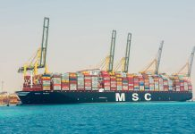King Abdullah Port receives world's largest boxship series