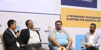 Praveen Joseph, chief executive, DP World Cochin; Kevin D'souza, director commercial and business development, DP World; Sanjay Mehta, founder and partner at 100X.VC and Ajay R., co-founder, Startup Reseau, discuss the future of a start-up eco-system for logistics