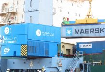 Maersk debuts at Duqm