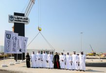 Mina Zayed rejuvenation gets underway with container delivery