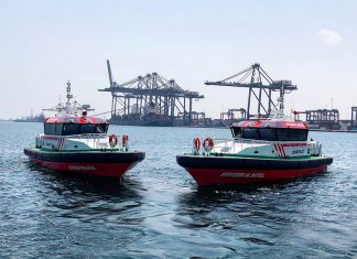 The two new pilot boats are now operational in Sohar port