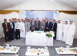A ceremony was held by Gulftainer to mark the completion of the SIIP road access