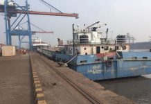 Landmark container shipment leaves Haldia