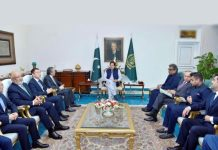 Hutchison reaffirms Pakistan commitment