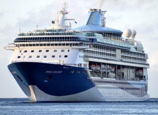 TUI Cruises Marella Discovery calling at Fujairah Terminals