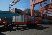 New container throughout record for Salalah