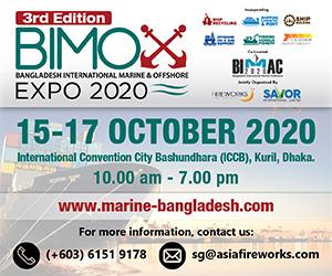 3rd Bangladesh International Marine & Offshore Expo (BIMOX) 2020