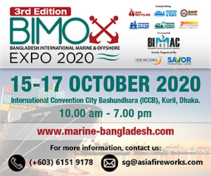 3rd Bangladesh International Marine & Offshore Expo (BIMOX) 2020