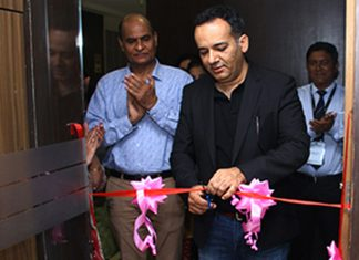 Nitin Mehta, Tomini group CEO, opening up the new crewing centre in Mumbai