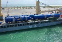 Project cargo milestone for Duqm port