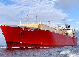 Recently acquired Tristar Ruby will be long term contracted to BP Shipping as part of an agreement to provide a range of LNG related shipping services