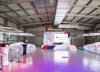 The new technical centre at Autoterminal Khalifa
