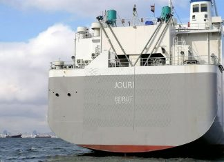 The Lebanese-flag Jouri has been converted into a livestock carrier under IRClass' supervision