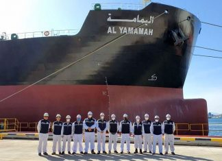 KOTC took delivery of the product tanker Al-Yamamah from Mipo Dockyard this month
