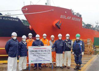 Solar Sharna at its launch