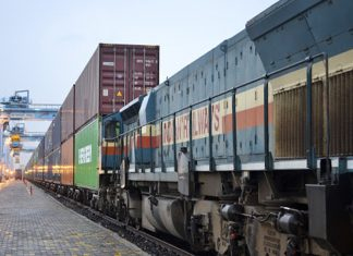Intermodal rail activity at JNPT has increased sharply