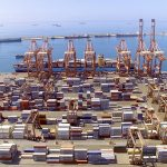 Container volumes handled at Salalah port were up significantly in the first quarter of this year