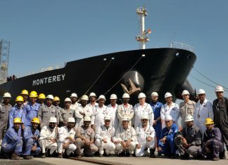 ASRY broke its own retrofit record on the tanker Monterey