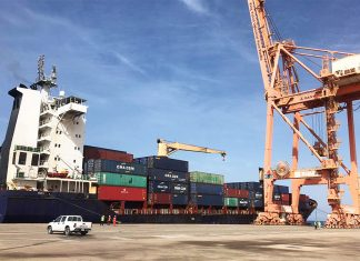 Contship Ono made its maiden call into Yanbu recently