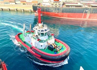 Svitzer Sohar will give the port the additional power needed to safety handle large vessel types