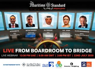 Panellists for TMS Webinar-Live from Boardroom to Bridge