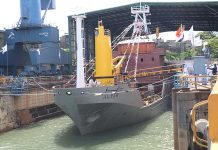 Colombo yard launches Buoy Tender Vessel
