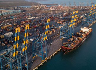 Mundra's container terminal was the Indian market leader for the first time in the first quarter of this financial year