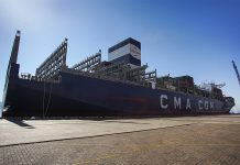 Largest vessel yet for Aqaba Container Terminal