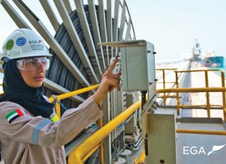 EGA is encouraging women to take on a range of engineering related roles, including in ports settings