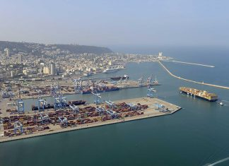 Container services could in future link the UAE with Haifa port