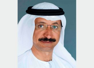 Sultan Ahmed bin Sulayem, Chairman of Dubai Ports, Customs and Free Zone and Chairman, Dubai Maritime City Authority (DMCA)