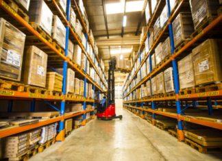 The Yanmar warehouse at Dubai airport