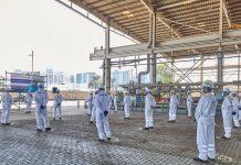 FPSO project gets underway at Drydocks World