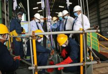Keel laying ceremony at Colombo Dockyard