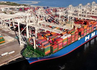 DP World's flagship Jebel Ali port welcomed one of the world's largest container vessels, HMM Gdansk