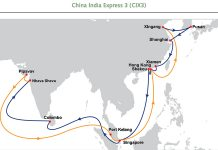 OOCL subcontinent service gets improved connectivity